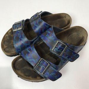 Papillio by Birkenstock purple multi color sandals